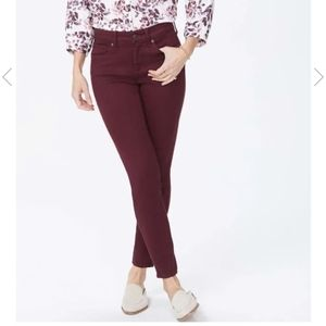 Caslon Red Wine Colored Skinny Jeans